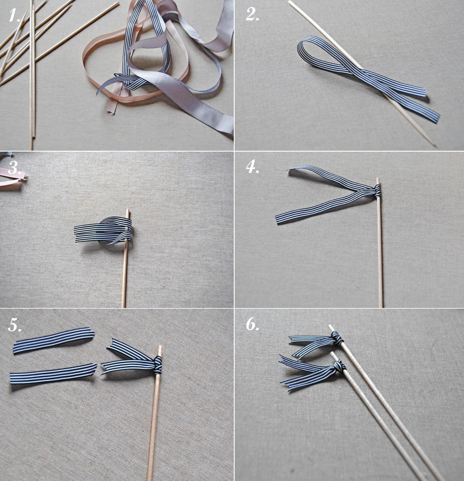 DIY. Agitadores para cócteles/Cocktail stirrers