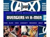 Marvel publicita Avengers X-Men varias webs