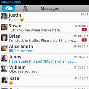 appworld.blackberry.com2  Disponible para BlackBerry: eBuddy XMS v.1.2.0 (Cliente de mensajeria multiplataforma)