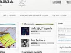 social para escritores: Falsaria