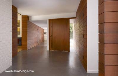 Fachada de madera en casa moderna paperblog - Casas de madera interiores ...