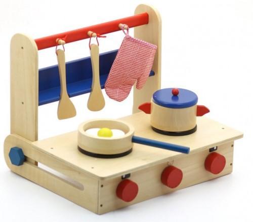 Cocinita de madera plegable paperblog for Cocina ninos juguete