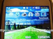 Configurar Barrar Herramientas Samsung Chat GT-S3350