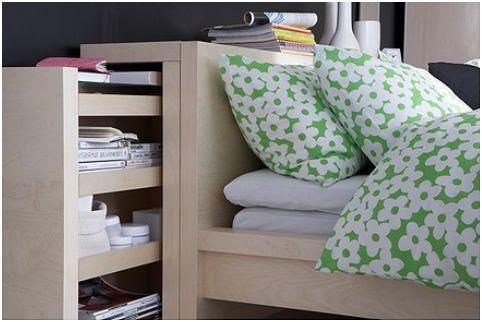 Estructura De Cama Con Almacenaje Mandal Posot Class - Ikea Camas ...