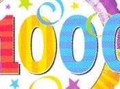 ¡Somos 1000!