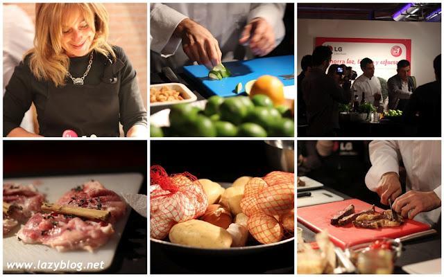 Cocinando con dar o barrio y el nuevo microondas lg - Cocinando con microondas ...