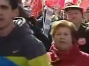Miles personas manifestaron calles españolas contra reforma