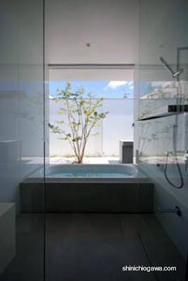 Casa patio minimalista japonesa paperblog for Casa minimalista japonesa