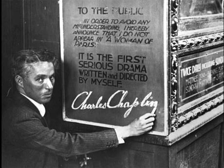 Charles Chaplin (4ª Parte. Una Mujer de París)
