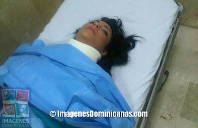 Sandra Berrocal se cae en programa...