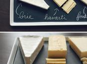 Recibir casa: tabla quesos
