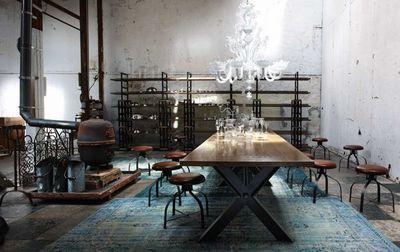 Estilo factory mesas de aire industrial paperblog - Syntaxe roche bobois ...
