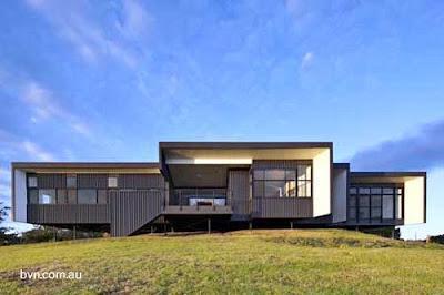Moderna casa ecol gica australiana paperblog for La casa stupefacente progetta l australia