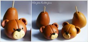 Paso a paso: Modelado osos enamorados con fondant y tarta sofá en 3D