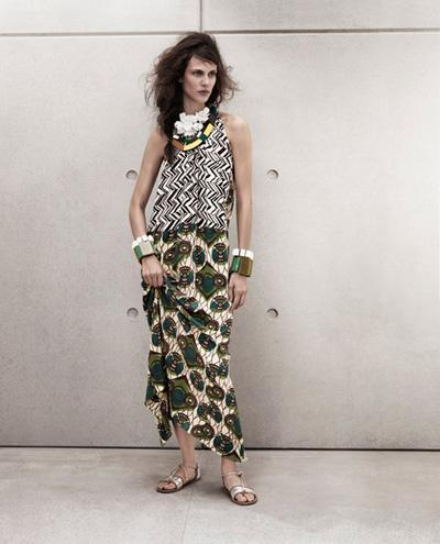 Marni for H&M.; Lookbook mujer
