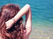 pelo, verano playa