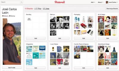 Pinterest: primeras impresiones y consejos