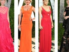 vestidos 'celebrities' fiestas después Oscars