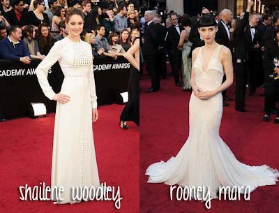 La alfombra roja de los Oscars 2012