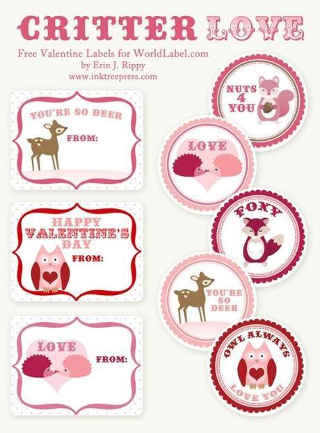 Imprimibles: San Valentín