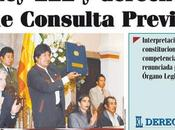 Derecho Consulta Previa Bolivia