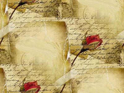 French Love Letter Wallpaper