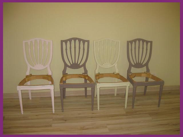 Antes y despu s las sillas de segunda mano de yola for Sillas de segunda mano