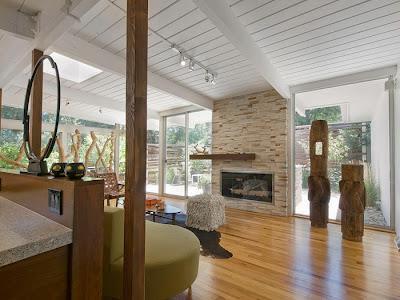 Casa moderna y r stica paperblog for Casa moderna y rustica