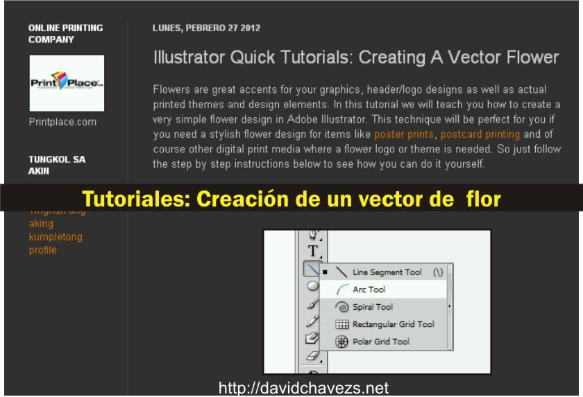 3 fabulosos tutoriales basados en Adobe Illustrator (Inspiración)