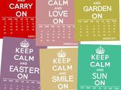 Calendario 2012 keep calm and...