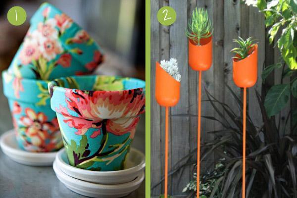 Macetas originales seis buenas ideas con las que empezar - Macetas originales para plantas ...