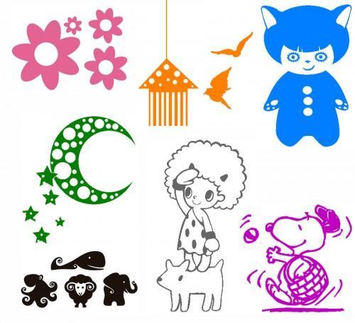 Vinilos murales y stickers infantiles paperblog - Vinilos murales infantiles ...