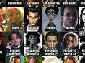 múltiples roles Johnny Depp