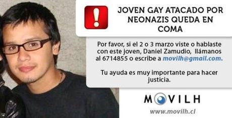 Joven gay atacado por neonazis quedó en coma