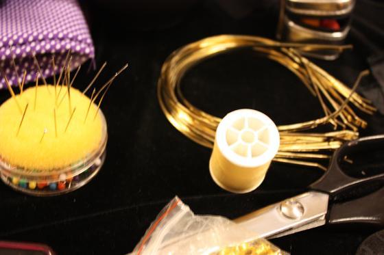 DIY: Creando un tocado con Secretos de Alcoba