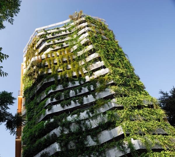 Comparativa entre sistemas constructivos de jardines for Jardines verticales barcelona