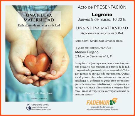 Presentación de Una Nueva Maternidad en Logroño