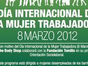 mujer trabajadora Body Shop Fundación Tomillo