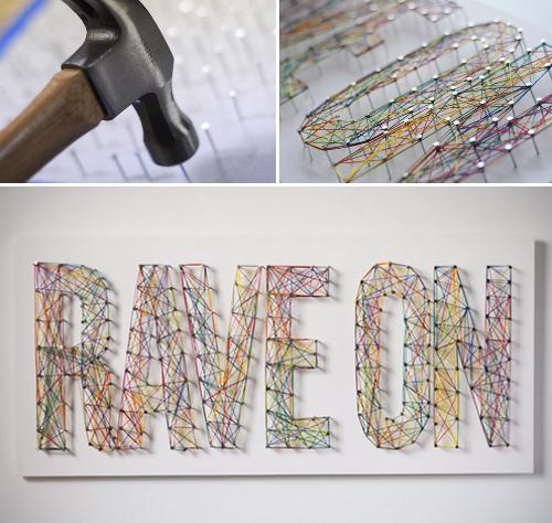 No pierdas el hilo paperblog - Clavos para pared ...