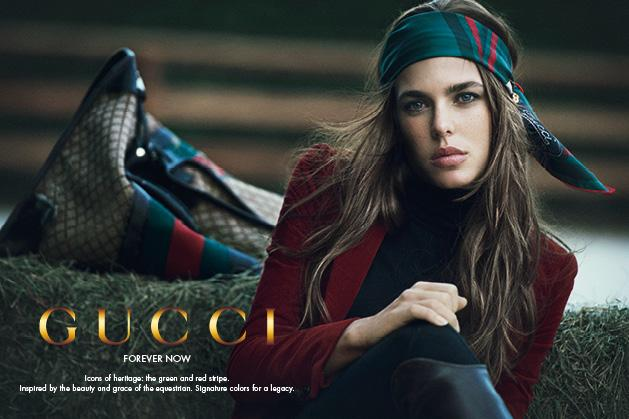 Gucci and Charlotte Casiraghi: forever now