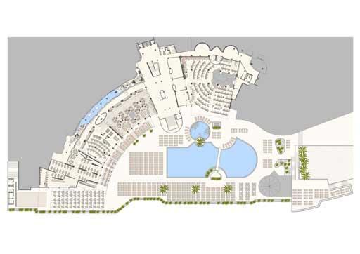 A cero presenta la reforma del hotel suite princess for Hoteles en planta