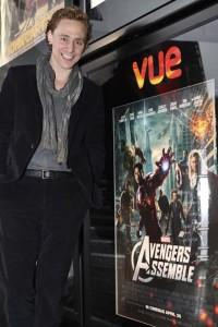 Tom Hiddleston Los Vengadores