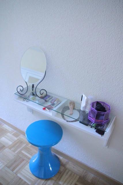 Ikea hack el mini tocador de miss mostaza paperblog for Espejo tocador ikea