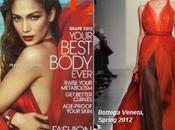 Jennifer López, impactante mujer rojo Vogue USA, Abril 2012