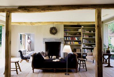 Grandes vigas y columnas en interiores rusticos paperblog - Columnas decoracion interiores ...
