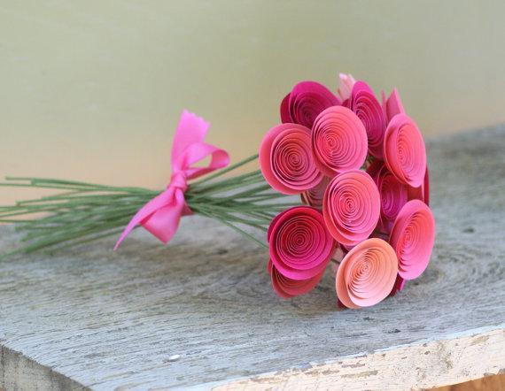 Flores de papel paperblog for Rosas de papel