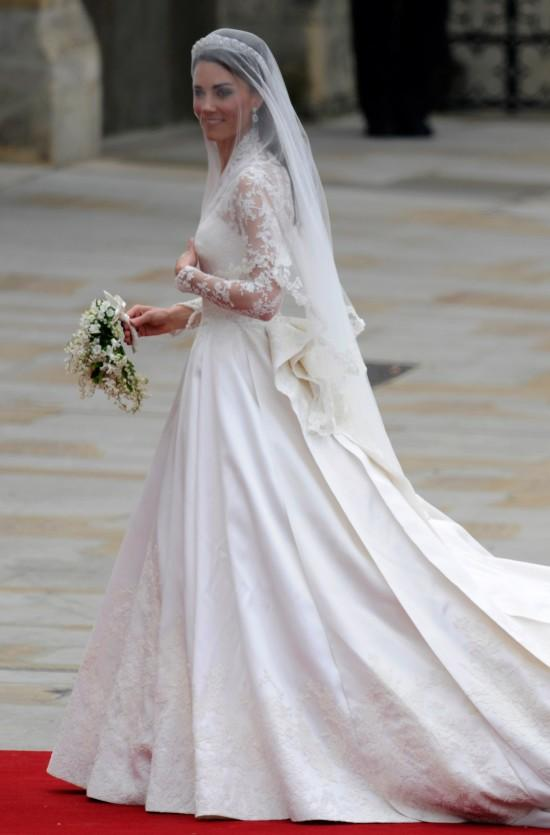 El Vestido De Novia De Kate Middleton Copia Y Copiado