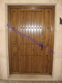 Puerta de exterior r stica paperblog - Puerta rustica exterior ...