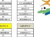 Torneo redondela fútbol 2012 (grupos calendario fase previa)