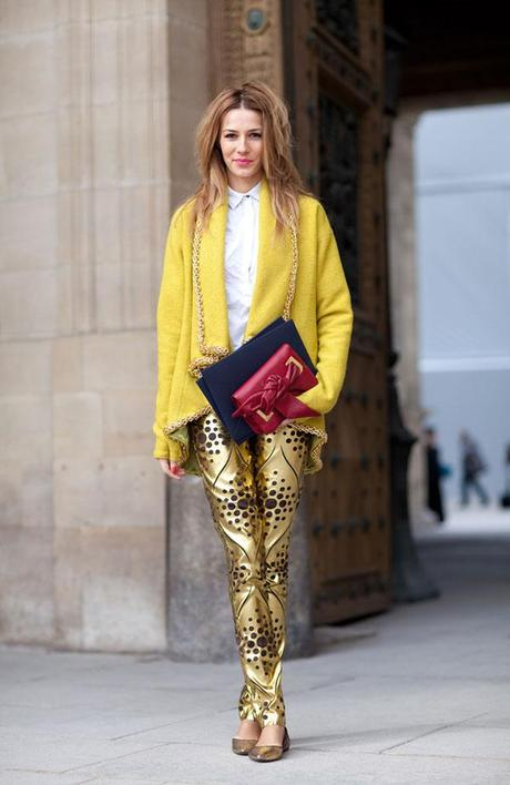 Yellow for spring